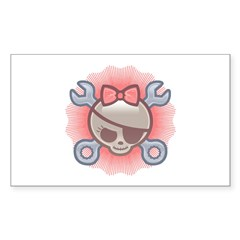 Molly Goodwench Rectangle Decal