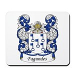Fagundes Family Crest Mousepad