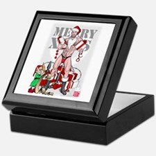 merry xmas daddy Keepsake Box