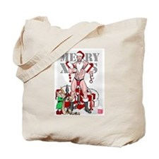 merry xmas daddy Tote Bag