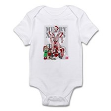 merry xmas daddy Infant Bodysuit