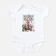 merry xmas daddy Infant Bodysuit