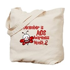 AIDS Awareness Month 4.3 Tote Bag