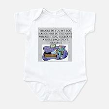 funny psychology psychiatrist Infant Bodysuit