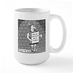 Attila The Bum Large Mug