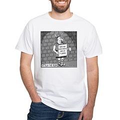 Attila The Bum White T-Shirt