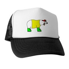 Cute North and south pole Trucker Hat