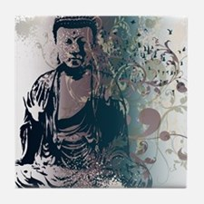 Pretty Buddha Tile Coaster