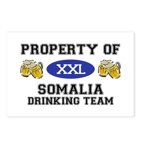 Property of Somalia Drinking Team Postcards (Packa