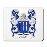 Falcao Family Crest Mousepad