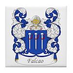 Falcao Family Crest Tile Coaster