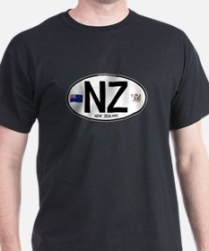 New Zealand Euro Oval T-Shirt