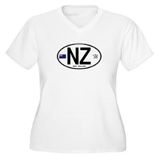 New Zealand Euro Oval T-Shirt