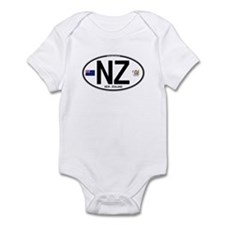New Zealand Euro Oval Infant Bodysuit