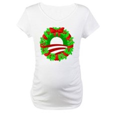 Barack Obama Christmas Wreath Shirt