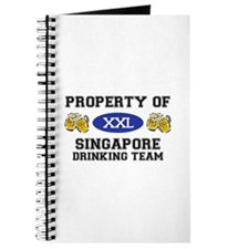 Property of Singapore Drinking Team Journal