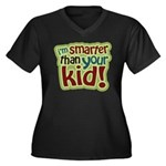 I'm Smarter Than Your Kid! Women's Plus Size V-Nec