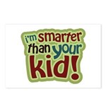 I'm Smarter Than Your Kid! Postcards (Package of 8