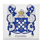 Farinha Family Crest Tile Coaster