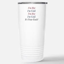 I'm Hot, I'm Cold Travel Mug