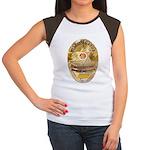 L.A. D.A. Investigator Women's Cap Sleeve T-Shirt