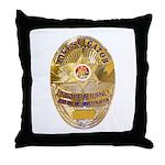 L.A. D.A. Investigator Throw Pillow