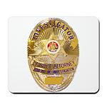 L.A. D.A. Investigator Mousepad