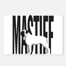 Big MASTIFF Postcards (Package of 8)