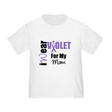 I Wear Violet Ribbon T