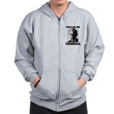 War Criminal Zip Hoody