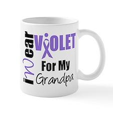 I Wear Violet Ribbon Mug