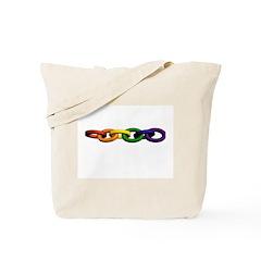 rainbow links Tote Bag
