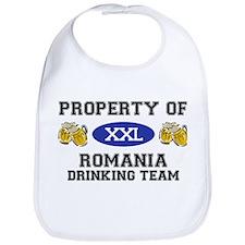 Property of Romania Drinking Team Bib