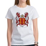 Feijo Family Crest Women's T-Shirt
