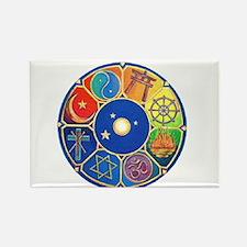 world religion Rectangle Magnet