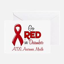 AIDS Awareness Month 1.2 Greeting Card