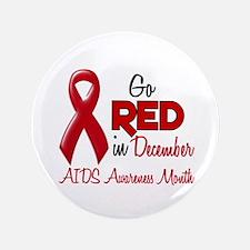 "AIDS Awareness Month 1.2 3.5"" Button (100 pack)"