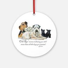Love Dogs Ornament (Round)