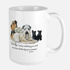 Love Dogs Large Mug