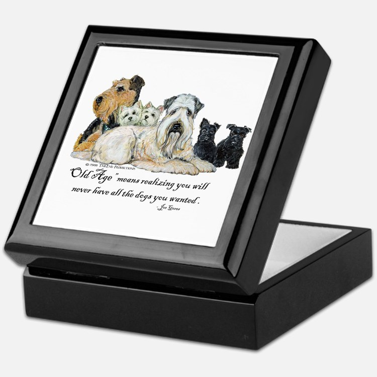 Love Dogs Keepsake Box
