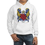 Feio Family Crest Hooded Sweatshirt