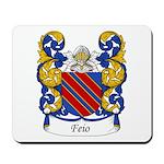 Feio Family Crest Mousepad
