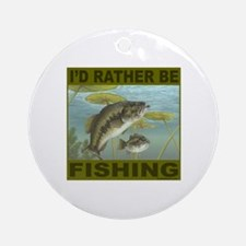 FISHING/FISHERMEN Ornament (Round)