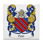 Feio Family Crest Tile Coaster
