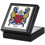 Feio Family Crest Keepsake Box
