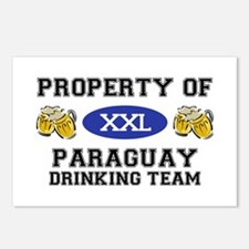 Property of Paraguay Drinking Team Postcards (Pack
