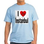 I Love Instanbul Turkey Light T-Shirt
