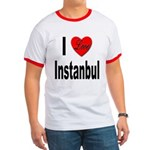 I Love Instanbul Turkey Ringer T