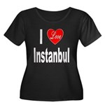 I Love Instanbul Turkey (Front) Women's Plus Size