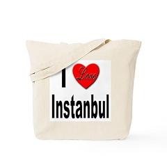 I Love Instanbul Turkey Tote Bag